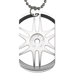 Wheel Skin Cover Dog Tag (two Sides) by BangZart