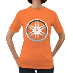 Wheel Skin Cover Women s Dark T Shirt
