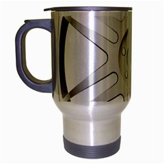 Wheel Skin Cover Travel Mug (silver Gray) by BangZart