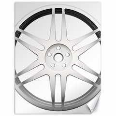 Wheel Skin Cover Canvas 18  X 24