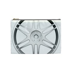 Wheel Skin Cover Cosmetic Bag (medium)  by BangZart