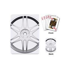 Wheel Skin Cover Playing Cards (mini)  by BangZart
