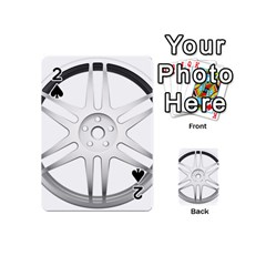 Wheel Skin Cover Playing Cards 54 (mini)  by BangZart