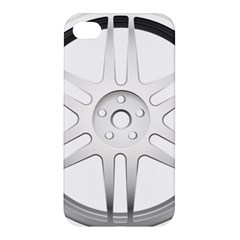 Wheel Skin Cover Apple Iphone 4/4s Hardshell Case by BangZart
