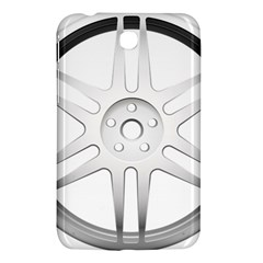 Wheel Skin Cover Samsung Galaxy Tab 3 (7 ) P3200 Hardshell Case  by BangZart