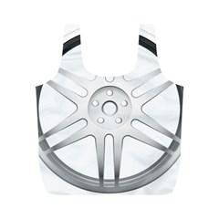 Wheel Skin Cover Full Print Recycle Bags (m)