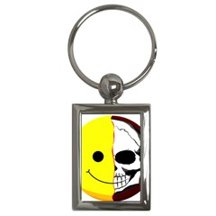 Skull Behind Your Smile Key Chains (rectangle)  by BangZart