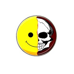 Skull Behind Your Smile Hat Clip Ball Marker (4 Pack) by BangZart