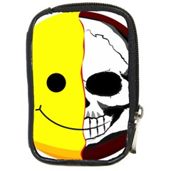 Skull Behind Your Smile Compact Camera Cases