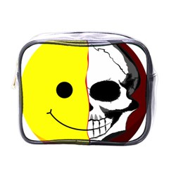Skull Behind Your Smile Mini Toiletries Bags