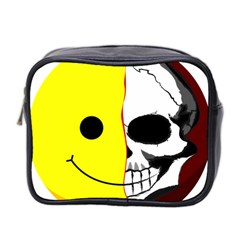 Skull Behind Your Smile Mini Toiletries Bag 2 Side by BangZart