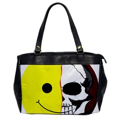 Skull Behind Your Smile Office Handbags