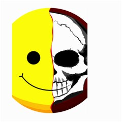Skull Behind Your Smile Large Garden Flag (two Sides)