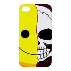 Skull Behind Your Smile Apple Iphone 4/4s Premium Hardshell Case by BangZart
