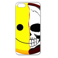 Skull Behind Your Smile Apple Seamless Iphone 5 Case (clear)