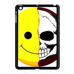 Skull Behind Your Smile Apple Ipad Mini Case (black) by BangZart