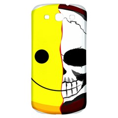 Skull Behind Your Smile Samsung Galaxy S3 S Iii Classic Hardshell Back Case by BangZart