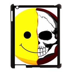 Skull Behind Your Smile Apple Ipad 3/4 Case (black)