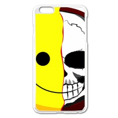 Skull Behind Your Smile Apple Iphone 6 Plus/6s Plus Enamel White Case by BangZart