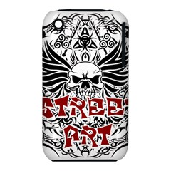 Tattoo Tribal Street Art Iphone 3s/3gs by Valentinaart
