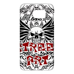 Tattoo Tribal Street Art Galaxy S6 by Valentinaart