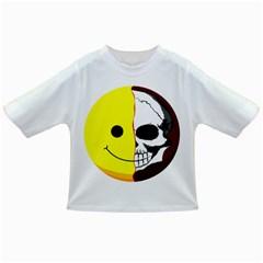 Skull Behind Your Smile Infant/toddler T Shirts
