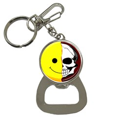 Skull Behind Your Smile Button Necklaces