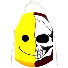 Skull Behind Your Smile Full Print Aprons by BangZart