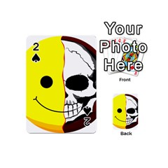 Skull Behind Your Smile Playing Cards 54 (mini)