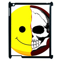 Skull Behind Your Smile Apple Ipad 2 Case (black) by BangZart