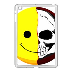 Skull Behind Your Smile Apple Ipad Mini Case (white) by BangZart