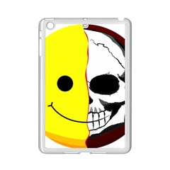 Skull Behind Your Smile Ipad Mini 2 Enamel Coated Cases