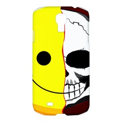 Skull Behind Your Smile Samsung Galaxy S4 I9500/i9505 Hardshell Case by BangZart