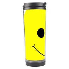 Skull Behind Your Smile Travel Tumbler
