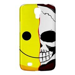 Skull Behind Your Smile Samsung Galaxy Mega 6 3  I9200 Hardshell Case