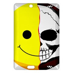 Skull Behind Your Smile Amazon Kindle Fire Hd (2013) Hardshell Case by BangZart