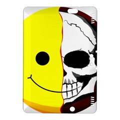 Skull Behind Your Smile Kindle Fire Hdx 8 9  Hardshell Case by BangZart