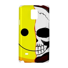 Skull Behind Your Smile Samsung Galaxy Note 4 Hardshell Case