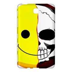Skull Behind Your Smile Samsung Galaxy Tab 4 (7 ) Hardshell Case  by BangZart