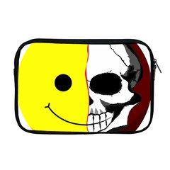 Skull Behind Your Smile Apple Macbook Pro 17  Zipper Case by BangZart