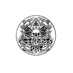Tattoo Tribal Street Art Hat Clip Ball Marker (10 Pack) by Valentinaart