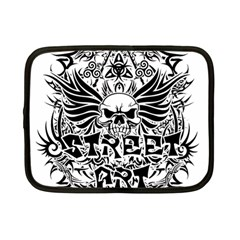 Tattoo Tribal Street Art Netbook Case (small)  by Valentinaart