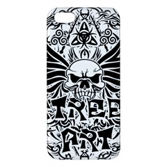 Tattoo Tribal Street Art Apple Iphone 5 Premium Hardshell Case by Valentinaart