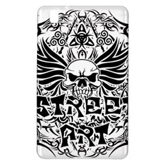 Tattoo Tribal Street Art Samsung Galaxy Tab Pro 8 4 Hardshell Case by Valentinaart