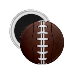 Football Ball 2 25  Magnets by BangZart