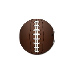 Football Ball Golf Ball Marker (4 Pack) by BangZart