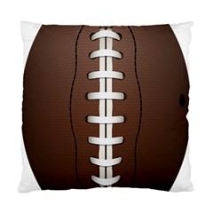 Football Ball Standard Cushion Case (one Side) by BangZart