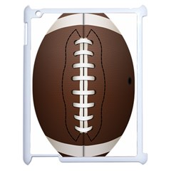 Football Ball Apple Ipad 2 Case (white) by BangZart