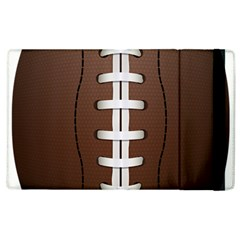 Football Ball Apple Ipad 2 Flip Case by BangZart