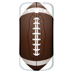Football Ball Samsung Galaxy S3 S Iii Classic Hardshell Back Case by BangZart